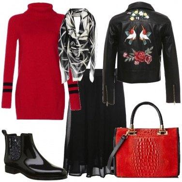 Outfit Trendy sotto la pioggia