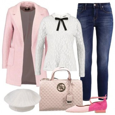 Outfit Bon Ton in rosa