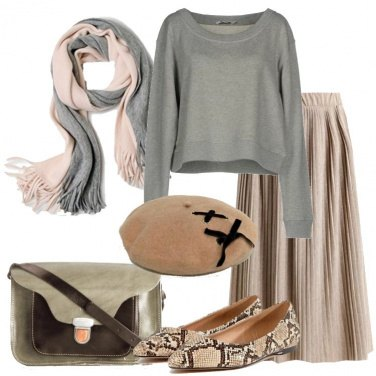Outfit Ballerine animalier