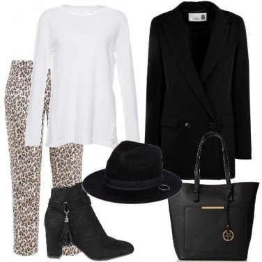 Outfit Sobrio animalier
