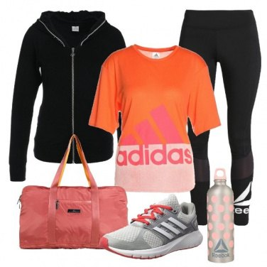 Outfit Fitness colorato