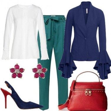 Outfit Colore ed eleganza