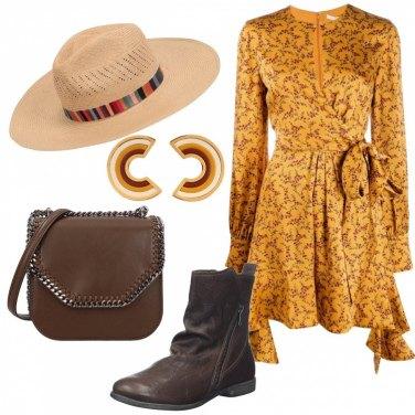 Come abbinare la borsa a spalla marrone: 307 Outfit Donna
