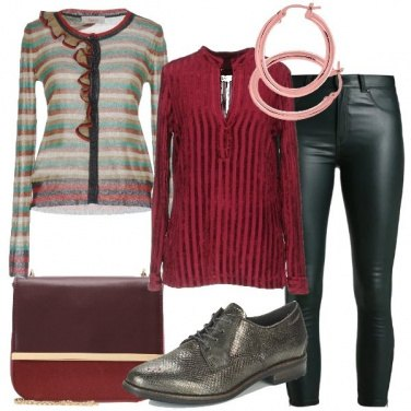 Outfit Righe perfette