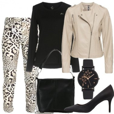 Outfit Non solo animalier