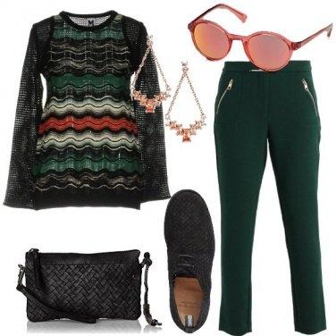 Outfit La maglia multicolore