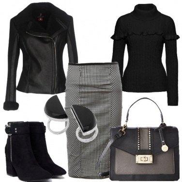 Outfit Prediligo il nero