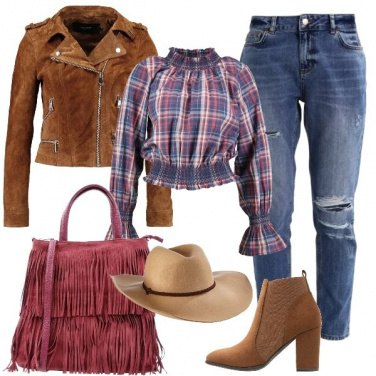 Outfit Mi vesto country
