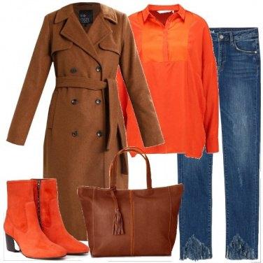 Outfit Stivaletti arancioni