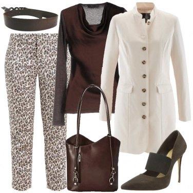 Outfit Panna e cioccolato