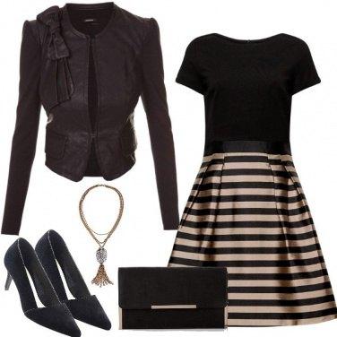 Outfit Sera coi fiocchi