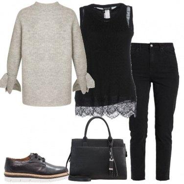 Outfit La felpa carina