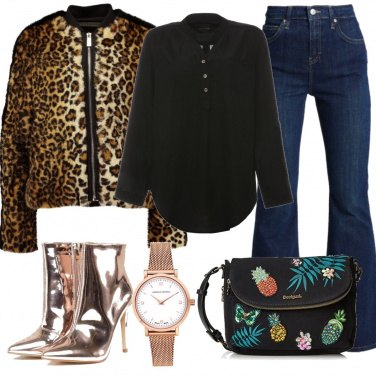 Outfit Look animalier