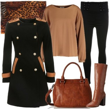 Outfit Military e animalier