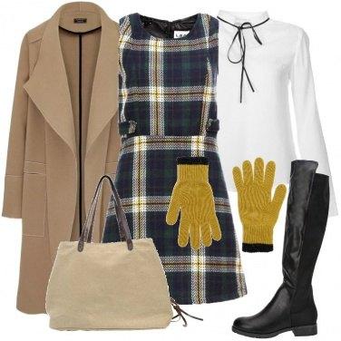 Outfit L\'abito scamiciato a quadri