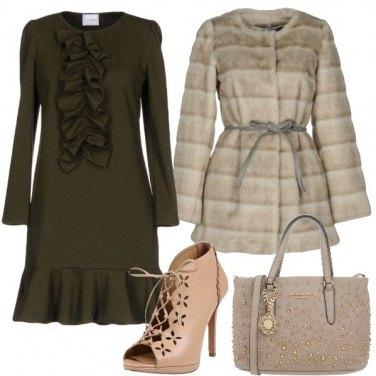 Outfit Rouches e borchie