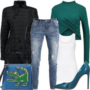 Outfit La borsa con applicazioni