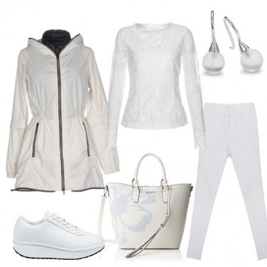 Outfit Mi vesto di bianco