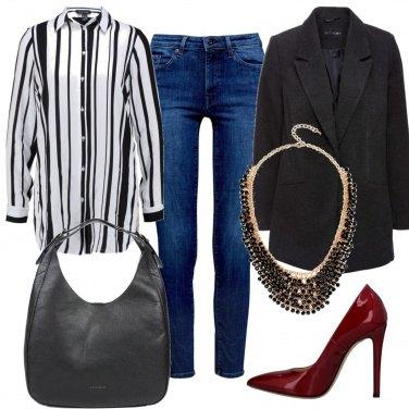 Outfit La collana protagonista