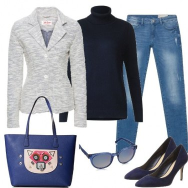 Outfit La borsa particolare