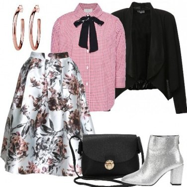 Outfit Mix & Match con i quadri