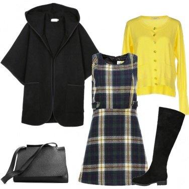 Outfit Giallo a quadri