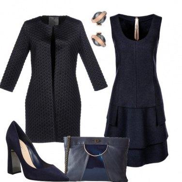 Outfit Balze blu