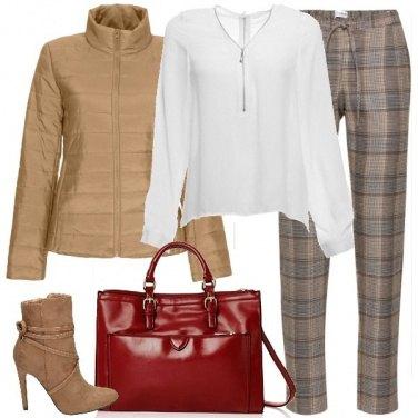 Outfit Il pantalone tartan