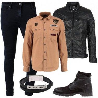 Outfit Nero giorno e notte