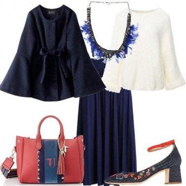 Outfit La collana di piume