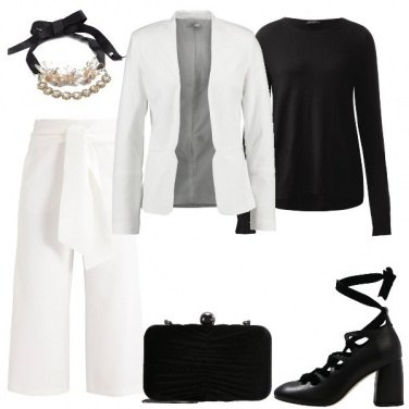 Outfit Il Completo Bianco