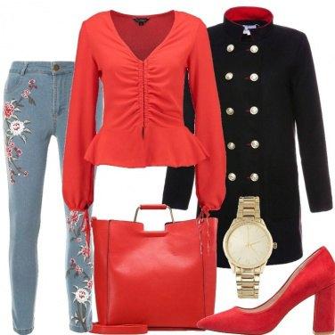 Outfit E\' l\'ora del rosso