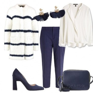 Outfit Cappottino bianco