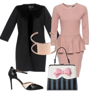 Outfit Romantica con il fiocco