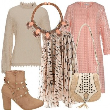 Outfit Aria rosa