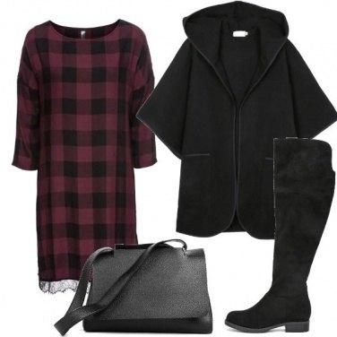 Outfit L\'abito a quadri