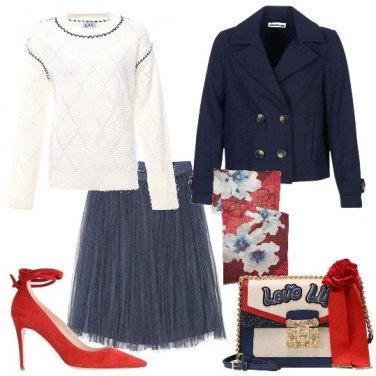 Outfit Tulle e fiori