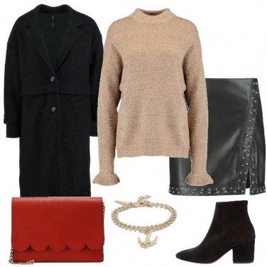 Outfit La tracolla rossa