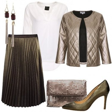 Outfit I toni del bronzo