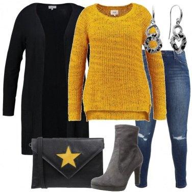 Outfit Un maglione luminoso
