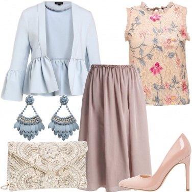 Outfit Cristalli e perline sulla pochette