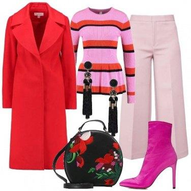Outfit Applicazioni floral