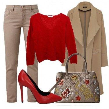 Outfit La Braccialini Tua con le patches