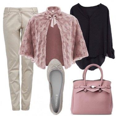 Outfit Un tocco di rosa