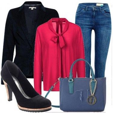 Outfit Un tocco di colore