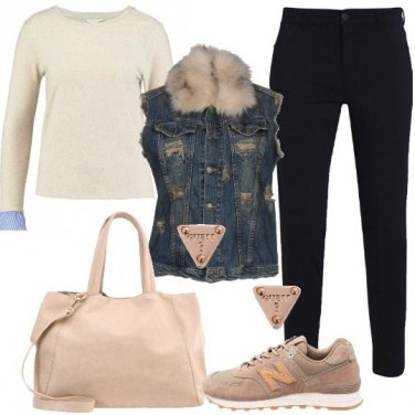 Outfit Giornata in sneakers