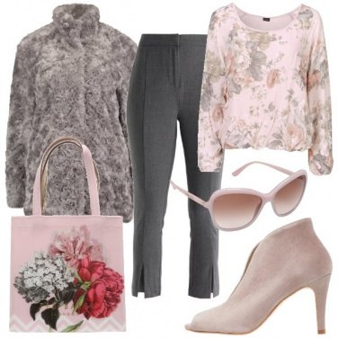 Outfit Shopping romantico
