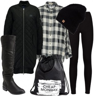 Outfit Urban con i cuissard