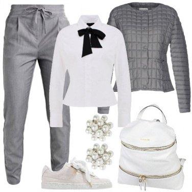 Outfit Trendy con lo zaino