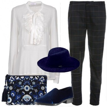 Outfit Fiocco e rouches